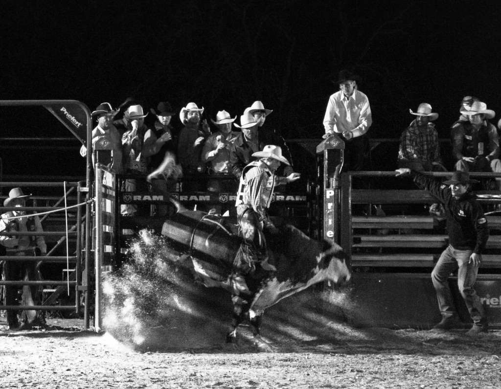 A NIGHT AT THE RODEO